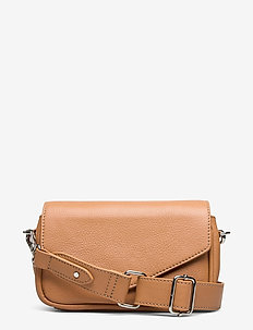 Grainy Lotus Bag - schoudertassen - brown sugar