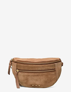 Suede Addison Bag - saszetka nerka - brownie