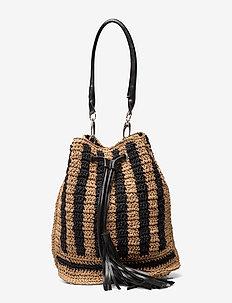 Fuse Ruth Bag - bucket bags - black