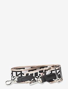 Bessie Strap - bag straps - silver gray