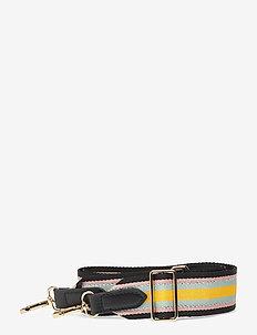 Carley Strap - bag straps - black