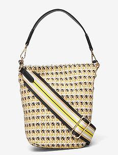 Yolk Dahlia Bag - bucket bags - freesia