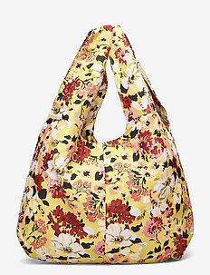 Jacquard Shopper Tote - torby na zakupy - yellow