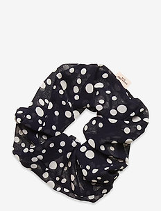 Dotted Scrunchie - hair accessories - night sky