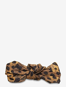 Leo Knot Hairband - akcesoria do włosów - brownie