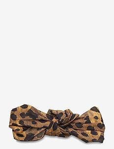 Leo Knot Hairband - accessories - brownie