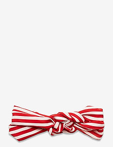 Striped Hairband - haar accessoires - fiery red