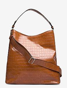 Kaia Kayna Bag - bucket bags - brown sugar