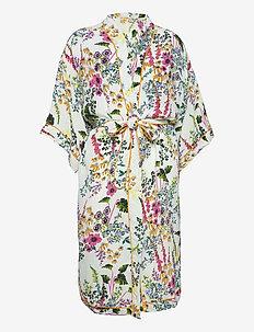 Gardenflo Liberte Kimono - vardagsklänningar - white