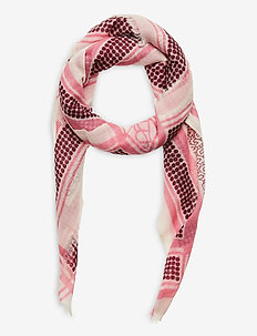 Besqua Mini Mill Scarf - schals - bubblegum