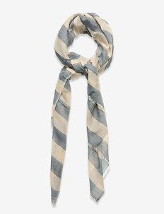 Liney Siw Scarf - szaliki i chusty - blue