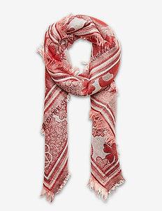 Bluma Colur Scarf - szaliki i chusty - red love
