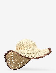 Connie Straw Hat - straw hats - nature