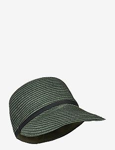 Kalani Straw Hat - stråhatte - army