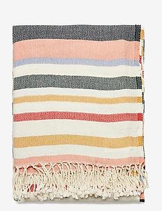 Rozie Towel - strandhåndklær - medieval blue