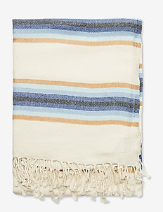 Ida Towel - strandhåndklær - medieval blue