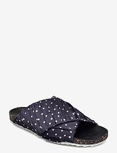 Dot Strap Sandal - platta sandaler - night sky