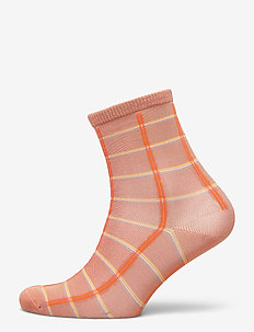 Square Rainbird Sock - sokken - muted clay
