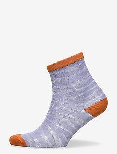 Zebra Glitzi Sock - lühikese säärega sokid - eventide
