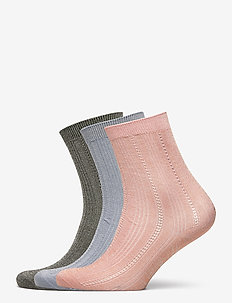 Mix Sock Pack W. 10 - sokker - army/blue/violetice