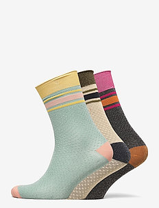 Mix Sock Pack W. 18 - sokken - black/gray/blue