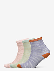 Mix Sock Pack W. 20 - socks - eventide/bluesurf/violet