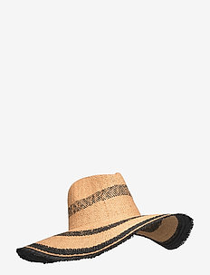 Kendra Straw Hat - stråhattar - nature
