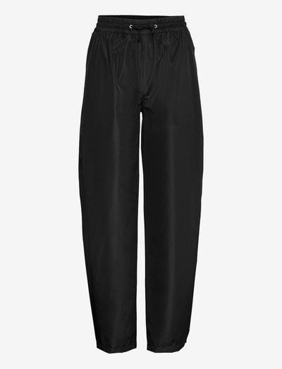 Solid Maggie Rain Pants - regnbukser - black