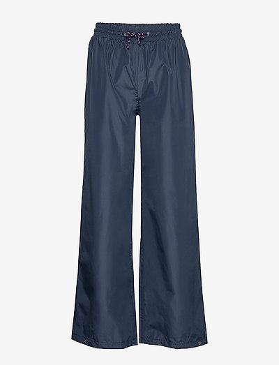 Solid Maggie Rain Pants - sadehousut - navy blue