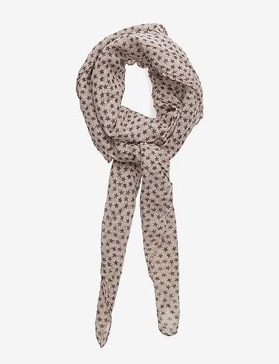 Fine Summer Star - tynde tørklæder - rosewood