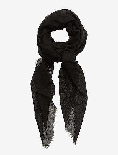 Mill - tynde tørklæder - black