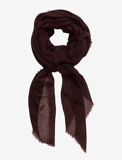 Mill - tynde tørklæder - burgundy