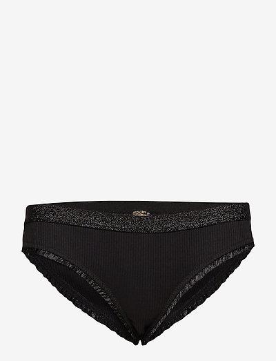 Solid Tasmine Bottom - briefs - black