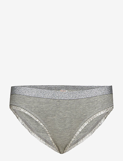 Solid Tasmine Bottom - briefs - light grey melange