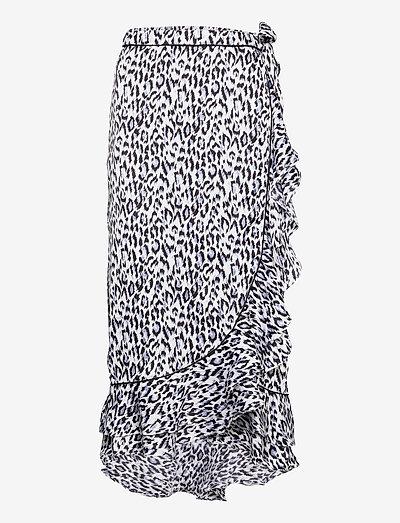 Calista Lela - slå-om-nederdele - black