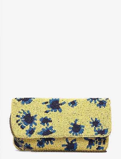 Dacy Fan - clutches - primrose yellow