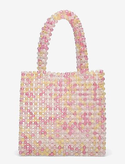 Bead Bag - håndtasker - pink