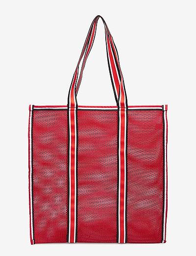 Meshy - tote bags - barbados cherry