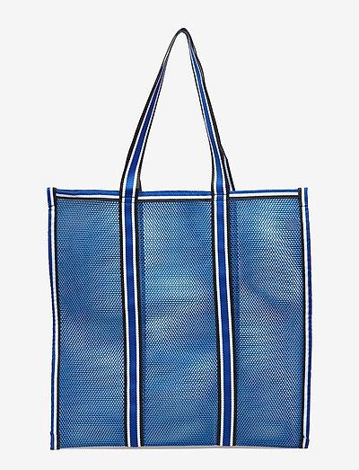 Meshy - tote bags - lichen blue
