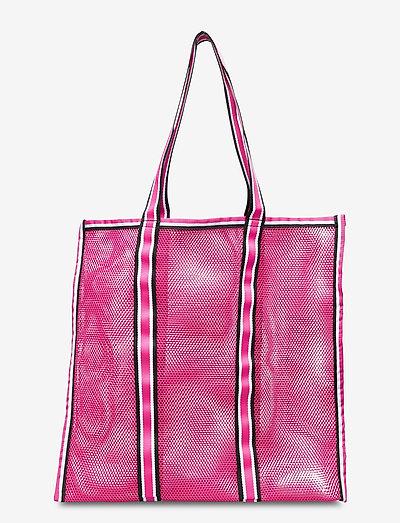 Meshy - tote bags - raspberry rose