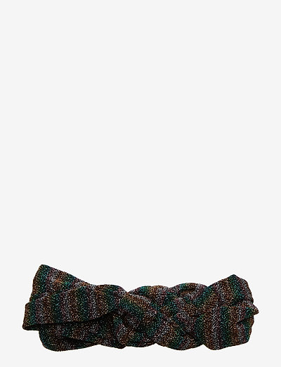 Glitz Hairband - hårbånd - grass green metallic