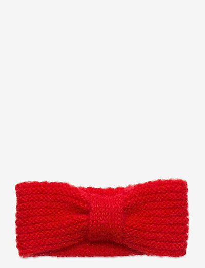 Lina Headband - hoofdbanden - red