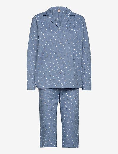 Tiny Flower Pyjamas Set - pyjamas - forever blue