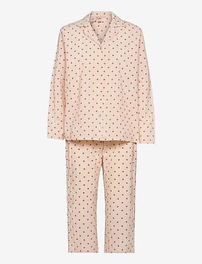 Dot Pyjamas Set - pyjama''s - sand