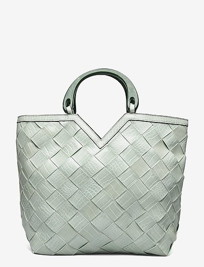 Medria Tote Bag - tote bags - silt green