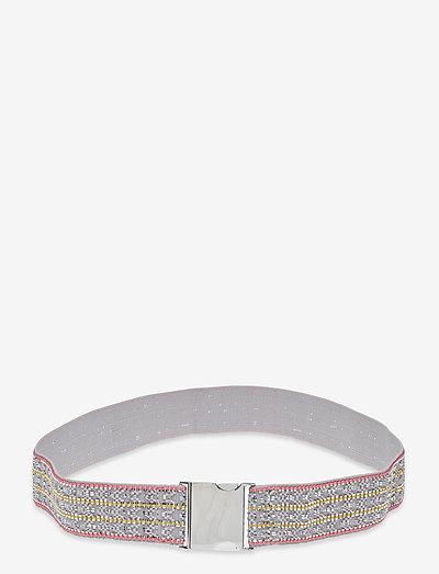 Kelisha Belt - bælter - lilac gray