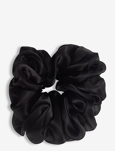 Organza Scrunchie - hiusasusteet - black