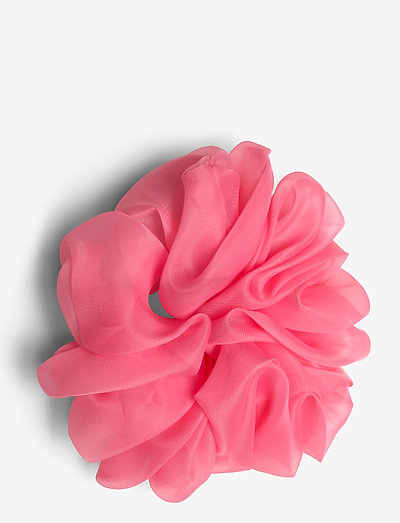 Organza Scrunchie - hair accessories - pink