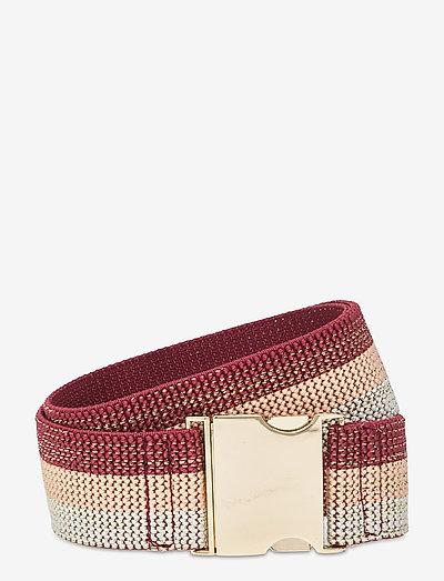 Grandie Elastic Belt - bælter - red