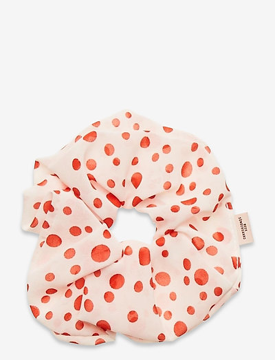 Dotted Scrunchie - haar accessoires - red love